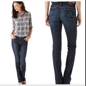 AG jeans Alexa mid rise slim boot